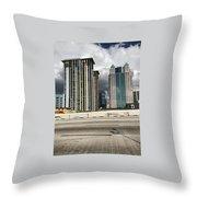 Downtown Orlando, Florida Throw Pillow