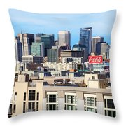 Downtown San Francisco Throw Pillow