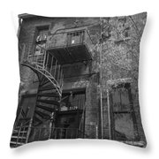 Downtown Storage Throw Pillow