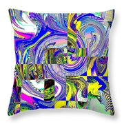 Downtown Tango Throw Pillow