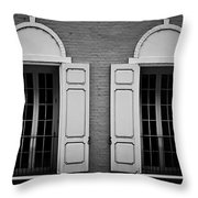 Downtown Windows Roanoke Virginia Throw Pillow