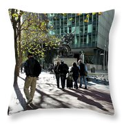 Downtownscape Throw Pillow