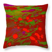 Dp Stone Impressions 18 Throw Pillow