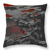 Dp Stone Impressions 19 Throw Pillow