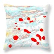 Dp Stone Impressions 24 Throw Pillow