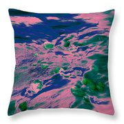 Dp Stone Impressions 9 Throw Pillow