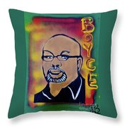 Dr. Boyce Watkins Throw Pillow