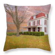 Dr Claude T. Old House Throw Pillow