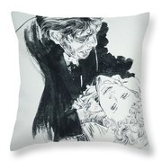 Dr. Jekyll As Mr. Hyde Throw Pillow