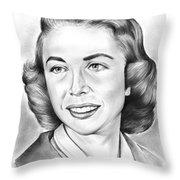 Dr. Joyce Brothers Throw Pillow