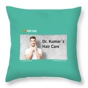 Dr. Kumar's Hair Care Clinic, Hair Transplant Services, Hair Transplant Doctors Throw Pillow