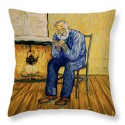 Dr Mazery Throw Pillow