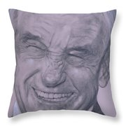 Dr. Ron Paul, Big Warm Smile Throw Pillow
