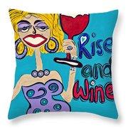 Drag Queen's Coffee  Throw Pillow