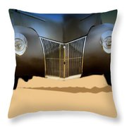 Drag Racing Anyone Throw Pillow