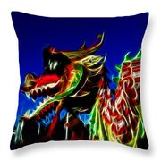 Dragon 3 Throw Pillow