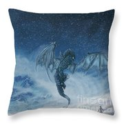 Dragon Born. Throw Pillow