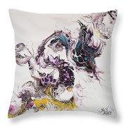 Dragon Breathe Throw Pillow