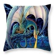 Dragon Causeway Throw Pillow