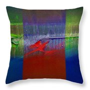 Dragon Coast Throw Pillow