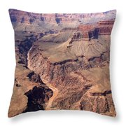 Dragon Corridor Grand Canyon Throw Pillow