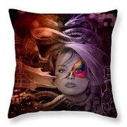 Dragon Dreams Throw Pillow