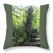 Dragon Fly Drummer Throw Pillow