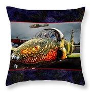 Dragon Jet Throw Pillow