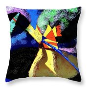 Dragon Killer Throw Pillow