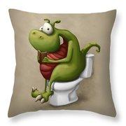 Dragon Number 2 Throw Pillow