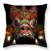 Dragon Of Nepal Throw Pillow