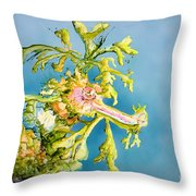 Dragon Of The Sea Throw Pillow by Tanya L Haynes - Printscapes