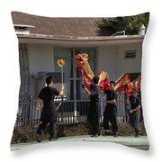 Dragon Parade Camarillo Year Of The Dog 2018 Throw Pillow