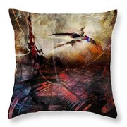 Dragon Realms Vii Throw Pillow