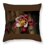 That Red Flower Thing  Throw Pillow