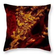 Dragon Skull Throw Pillow