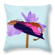 Dragon Sleeping Throw Pillow