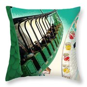 Dragon Swing Throw Pillow