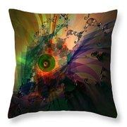 Dragon Wisdom Eye Throw Pillow