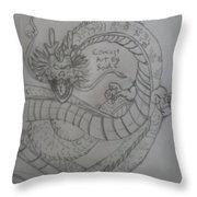 Dragonball Z Throw Pillow