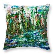 Dragonflies Palace  Throw Pillow