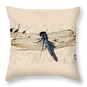 Dragonfly 5 Throw Pillow