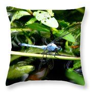 Dragonfly 9 Throw Pillow