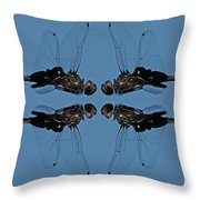 Dragonfly Composite Color Throw Pillow