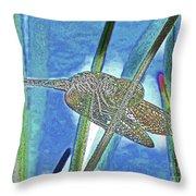 dragonfly Interior Throw Pillow