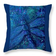 Dragonfly Series B Throw Pillow