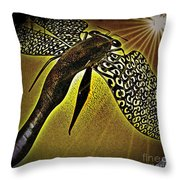 Dragonfly V Throw Pillow
