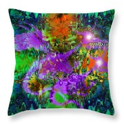 Dragons Abstract. Throw Pillow
