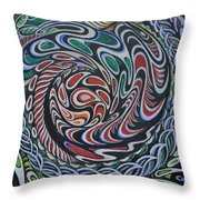 Dragon's Eye Throw Pillow