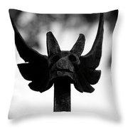 Dragons Gate Throw Pillow